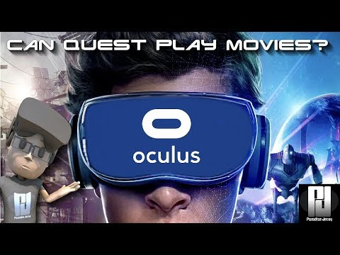 Can you watch MOVIES on the OCULUS QUEST? And on the MOON! // Oculus Quest
