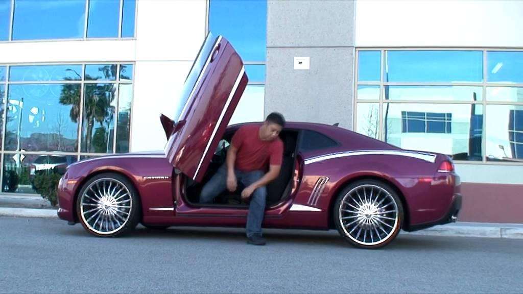 5Th Gen Mustang >> Chevrolet Camaro 5th Gen lambo doors by Vertical Doors Inc - YouTube