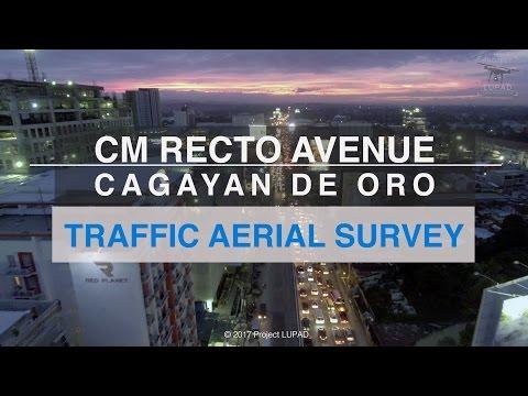 CM Recto Avenue Cagayan de Oro Traffic Aerial Survey 4K