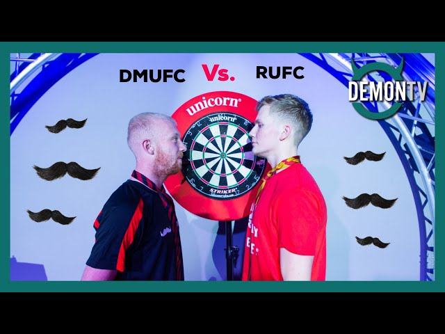 DMU Football Vs DMU Rugby | Darts | Movember