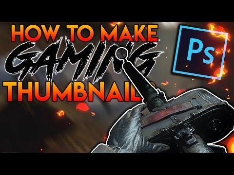 How to make Eye Catching Thumbnails with Photoshop