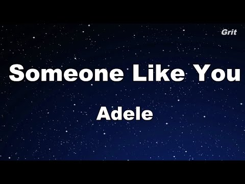 Someone Like You - Adele Karaoke�No Guide Melody】
