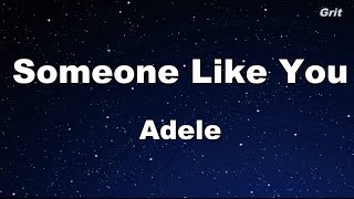 Someone Like You - Adele Karaoke【No Guide Melody】 MP3