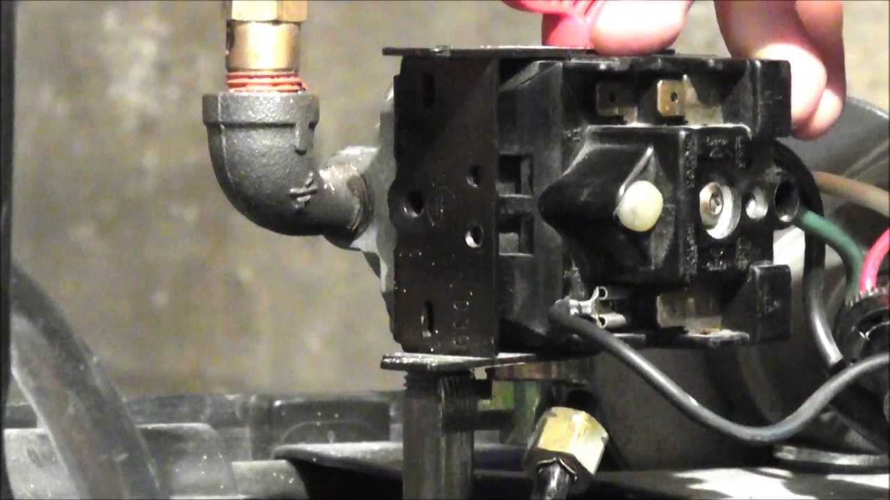How To Wire A Campbell Hausfeld  Husky Pressure Switch