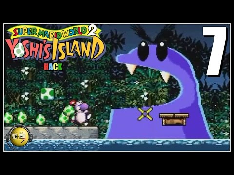 Let's Play SMW2+2 (Yoshi's Island Hack) Part 7: Under The Sea!