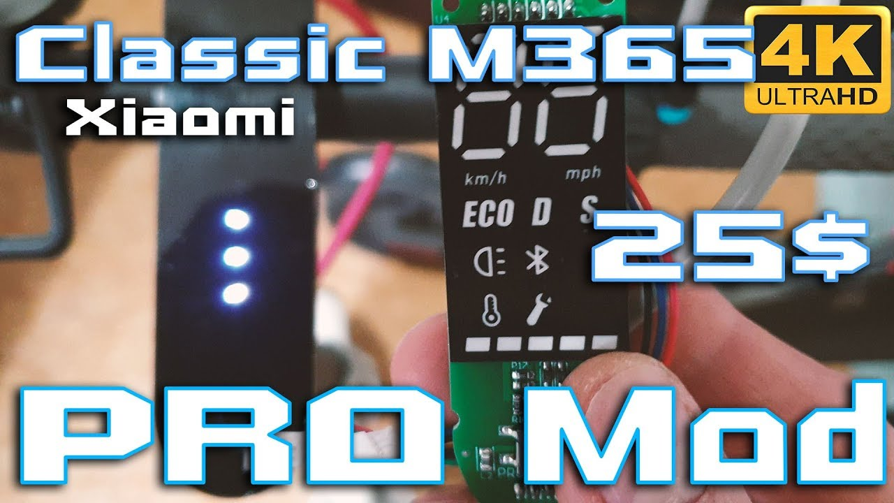 How to Mod Xiaomi M365 to Pro Dashboard 🚀⚡ For only 18$ ?! 🔥🔥