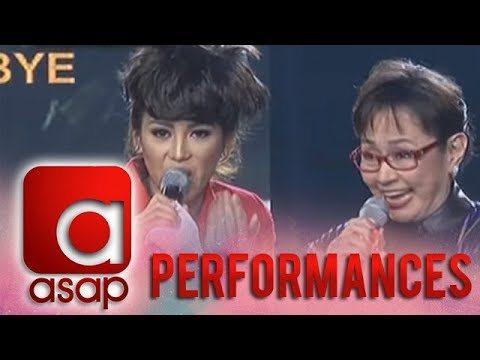 Vilma Santos accepts ASAP Karaokey Challenge