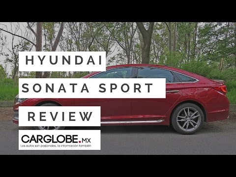 Hyundai Sonata Sport 2.0 T prueba de manejo. Car Globe