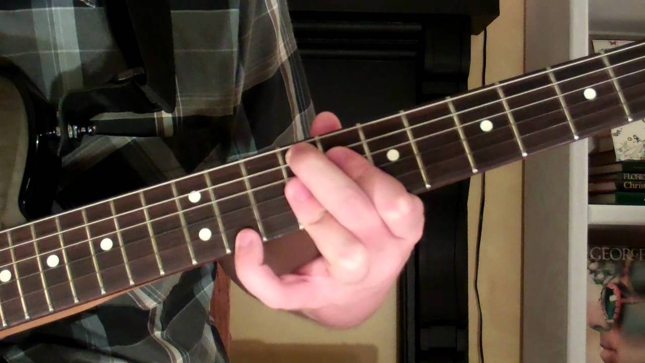 How To Play The F13 Chord On Guitar F Sharp Thirteenth 13th Youtube
