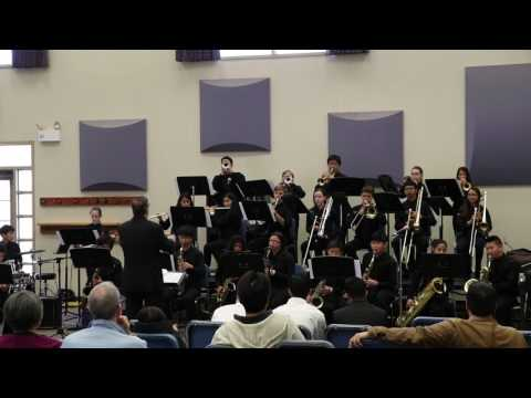 Harvest Park Middle School Jazz Band at Campana Festival 2017