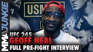 UFC 245: Geoff Neal full MMA Junkie interview