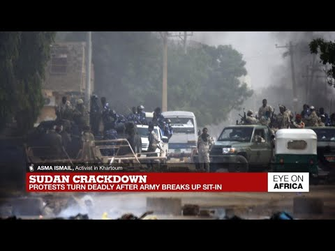 Sudan protests turn deadly - YouTube