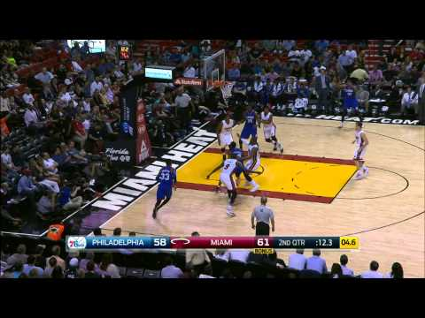 Top 10 NBA Plays: February 23rd