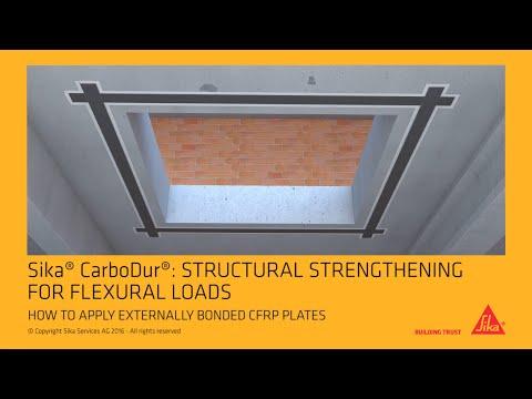 Sika® CarboDur® Externally bonded CFRP plates