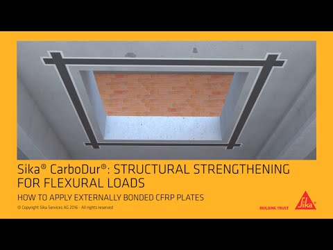 Sika® CarboDur® Externally bonded CFRP plates
