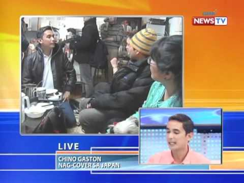 News To Go - Howie Severino Interviews Chino Gaston On Japan Situation 3/28/2011