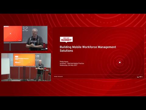 Building mobile workforce management solutions