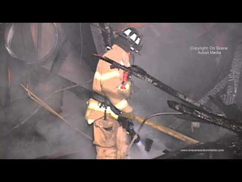 Carmichael, CA: A Suspicious 2nd Alarm Commercial Fire at a Strip Mall  11-24-12