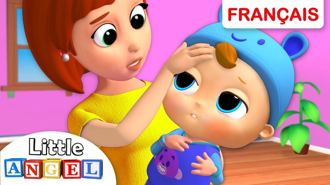 Bebe Louis Est Malade Chanson Educative Comptine Pour Les Tout Petits En Francais Youtube