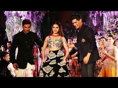 Shraddha Kapoor, Sushant Singh walk the ramp at Lakme Fashion week, watch | Filmibeat