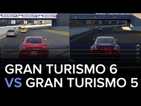 Gran Turismo 6 Demo vs Gran Turismo 5 - 1080p - Tests de Frame Rate