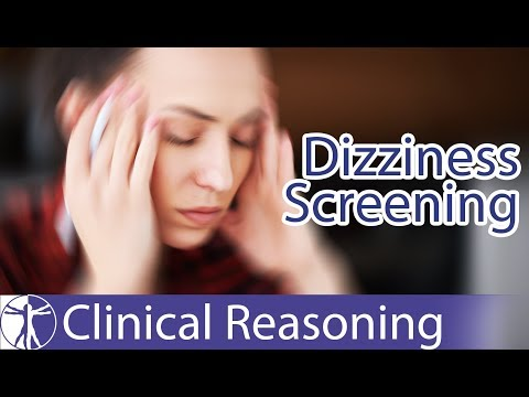 Dizziness Screening (Menière's Disease, Vestibular Neuritis, Etc.)