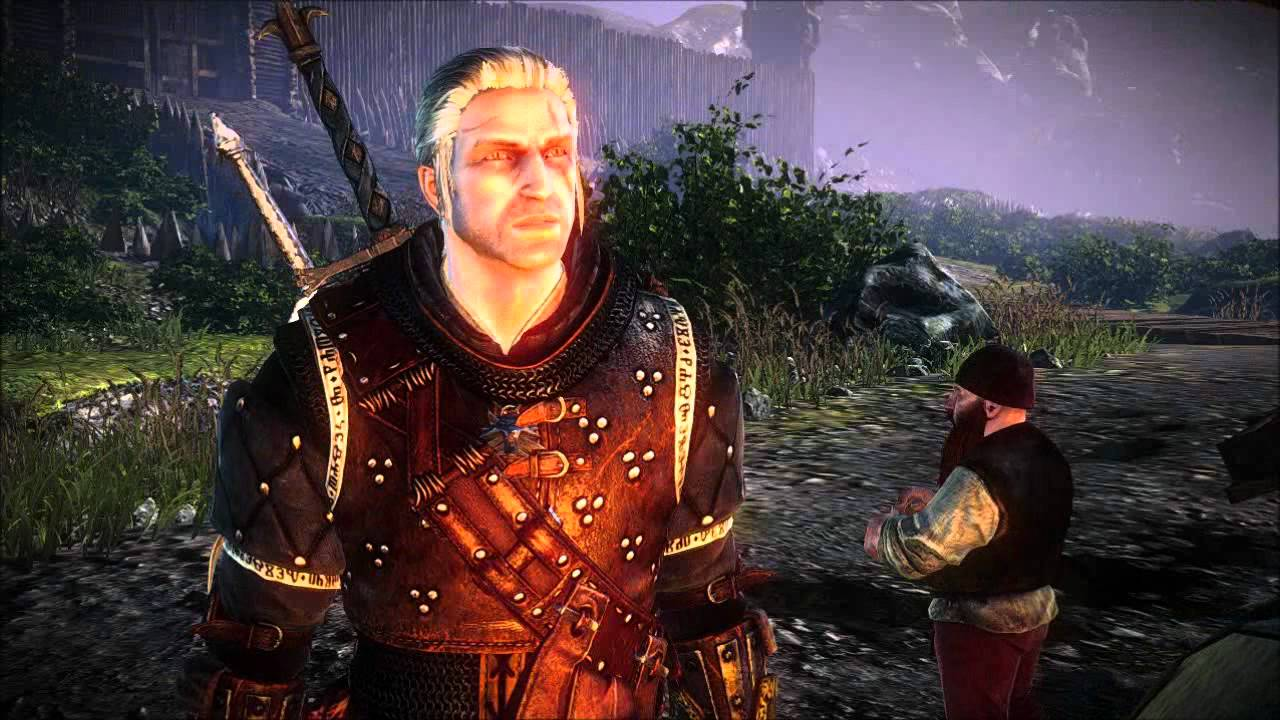 The Witcher 2 Haircuts Dlc Youtube