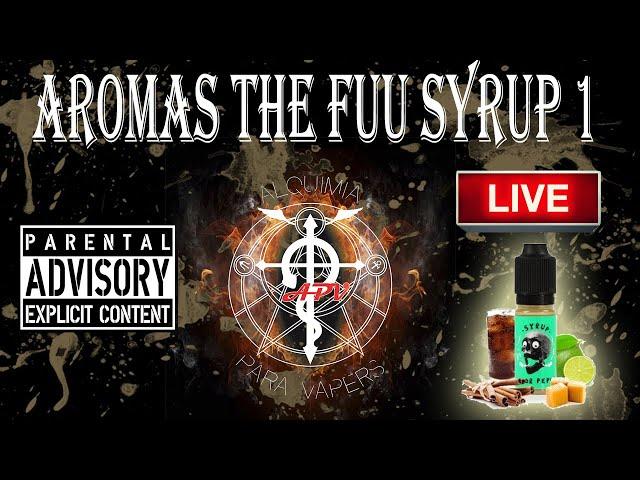 APV 159. Revisión de aromas The Fuu Syrup
