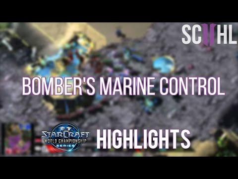 Bomber's Marine Control - Bomber vs Jaedong