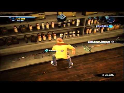 Dead Rising 2: Case Zero Weapon Combinations, Episode 3 (Tutorial W/Commentary)