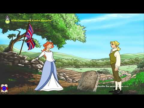 Liberty's Kids  Part 3 Mini Movies - Declaration of Independence   Kids Games and Kinder Surprise