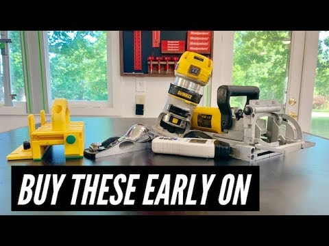 5 Tools to Buy EARLY // WOODWORKING TOOLS