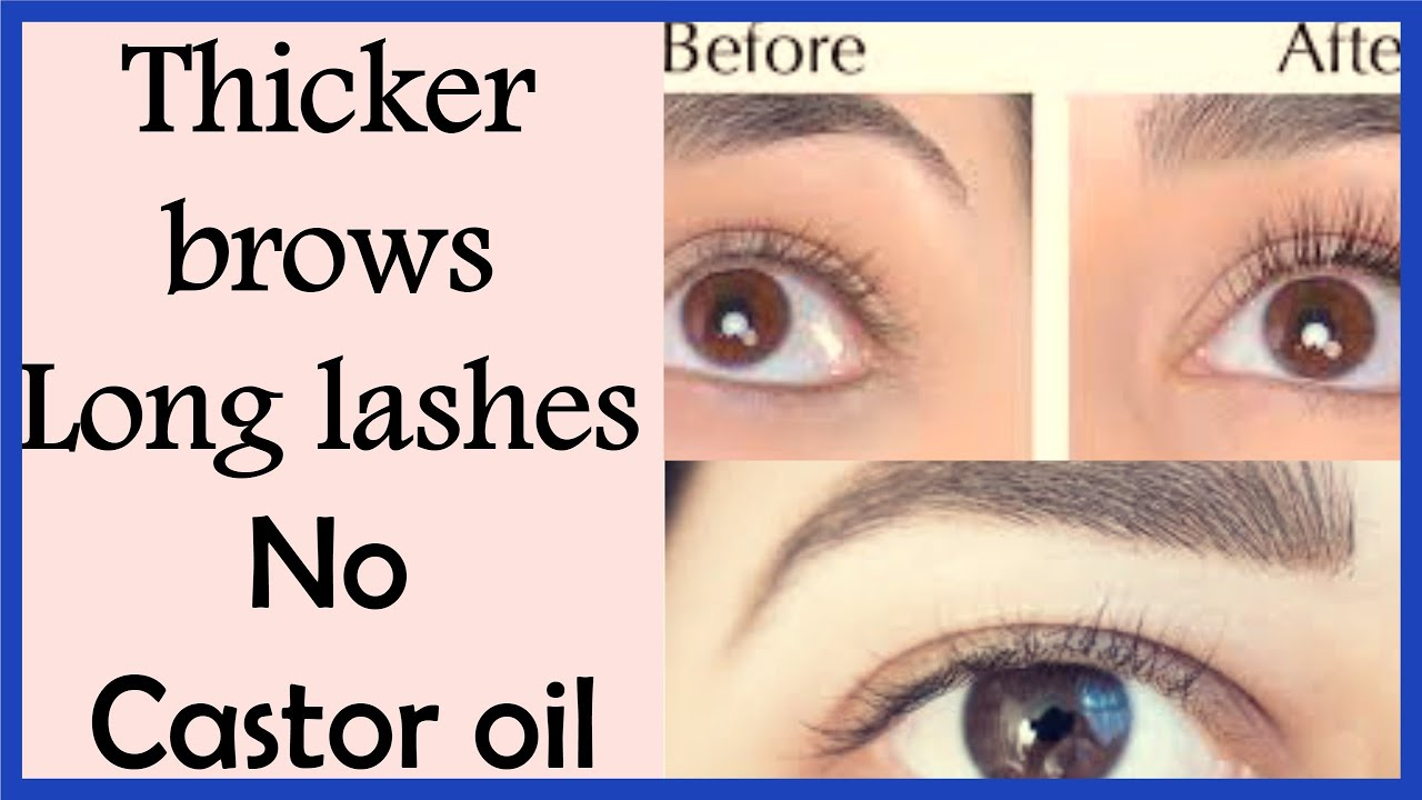 Get Thicker Eyebrows And Longer Lashes Naturally In Just 7 Daysgrow