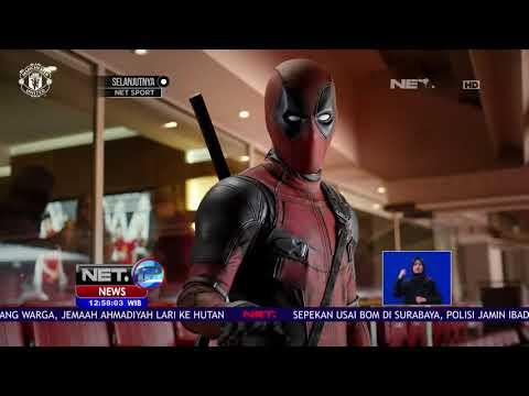Kerja Sama Promosi Film Deadpool 2 Gandeng MU  -NET12