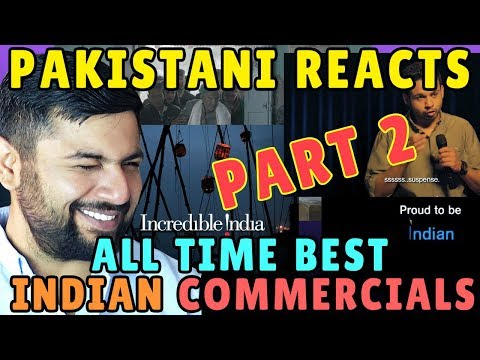 Pakistani Reacts to Top Indian Commercials of All Time PART 2