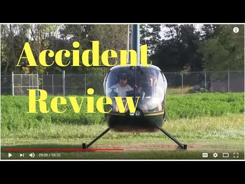 Helicopter Accident Review from Live Training Tuesday