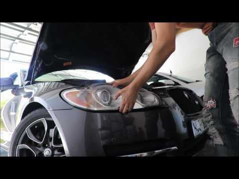 How to remove Jaguar XF headlight