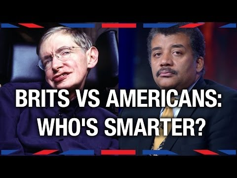 Brits vs Americans: Who's Smarter? Anglophenia Ep 1
