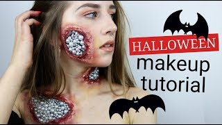 PERŁOWE RANY | HALLOWEEN MAKEUP | TUTORIAL