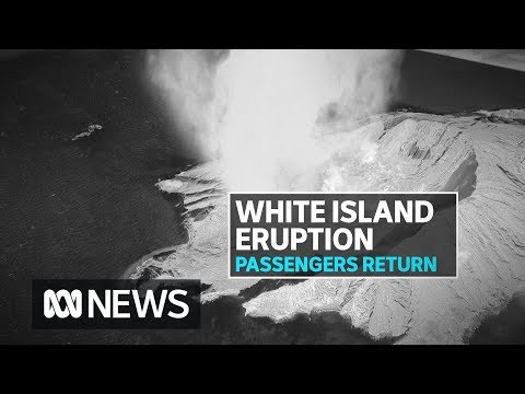 New Zealand volcano tragedy cruise ship Ovation of the Seas arrives back in Sydney | ABC News