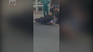 Video shows Pennsylvania cop using knee restraint