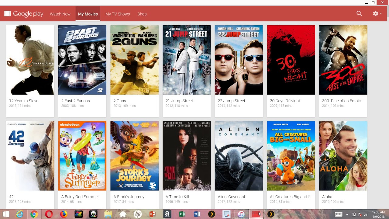 google play movies tv shows work in youtube free movies tv hack
