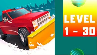 Clean Road Game Walkthrough Part 1 lv1~lv30