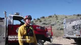 Boise Fire Hosts A Joint Wildfire Refresher Training Class