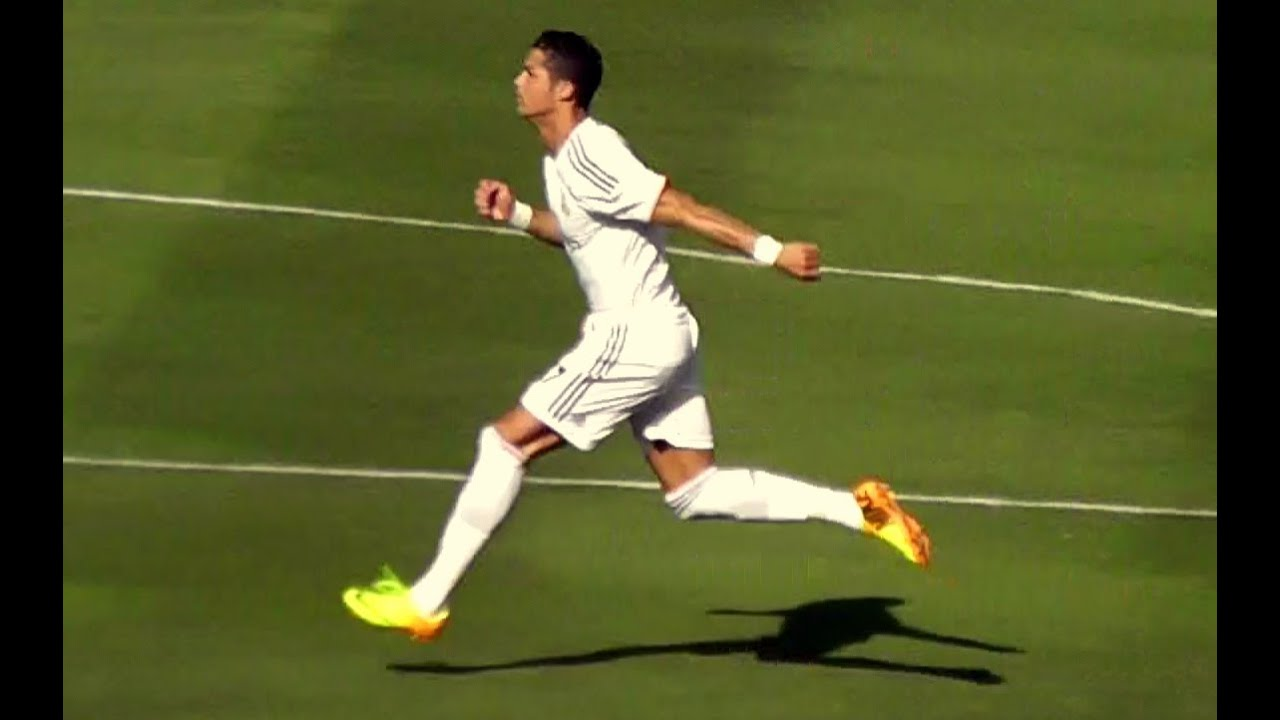 James rodriguez makes fun of cristiano ronaldos flailing arm sprint at