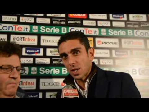 10/12/2016 MIXED ZONE POST PERUGIA PRO VERCELLI CON MORENO LONGO