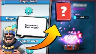LEVEL 1 NOOB OPENS THE OLDEST CHESTS IN CLASH ROYALE & BEST CARD UNLOCKED!