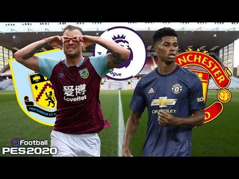 eFootball PES 2020   Burnley Vs Manchester United ...