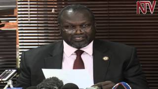 South Sudan conflict: Riek Machar says he is fully committed to peace