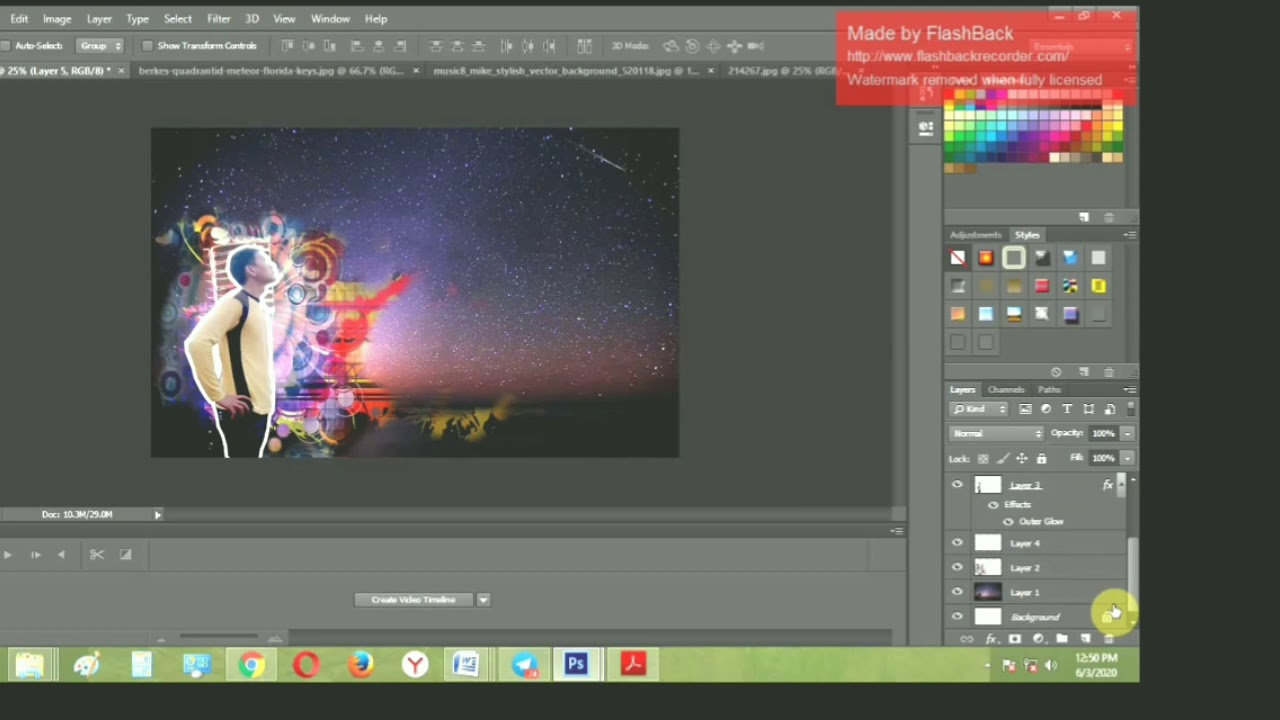 Cara Edit Gambar mengunakan Adobephotoshop.. - YouTube